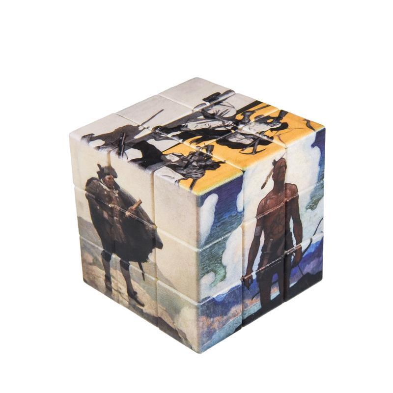 N.C. Wyeth Art Cube