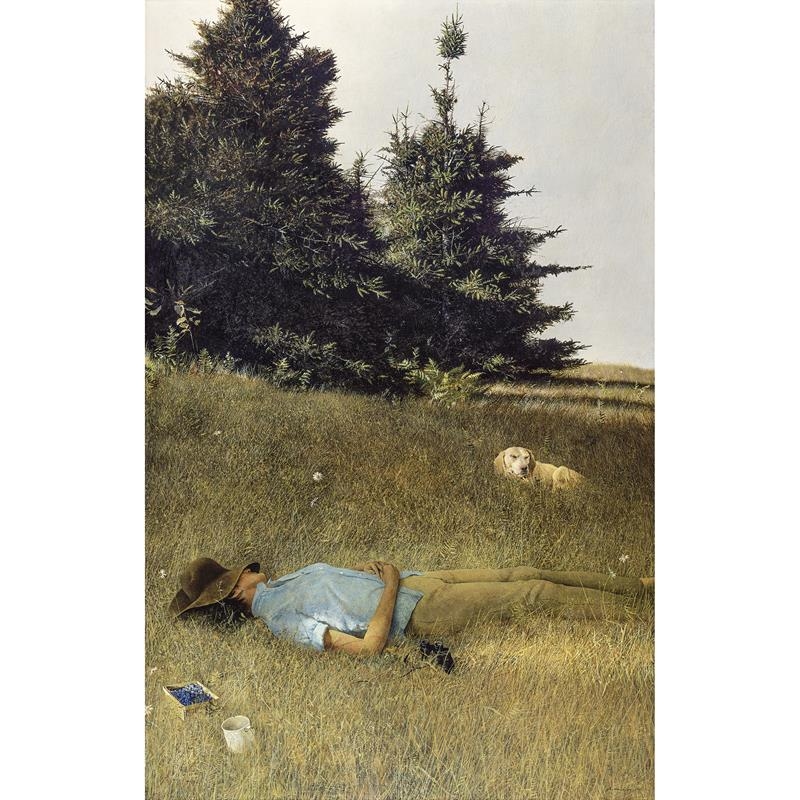 Distant Thunder Print — Andrew Wyeth